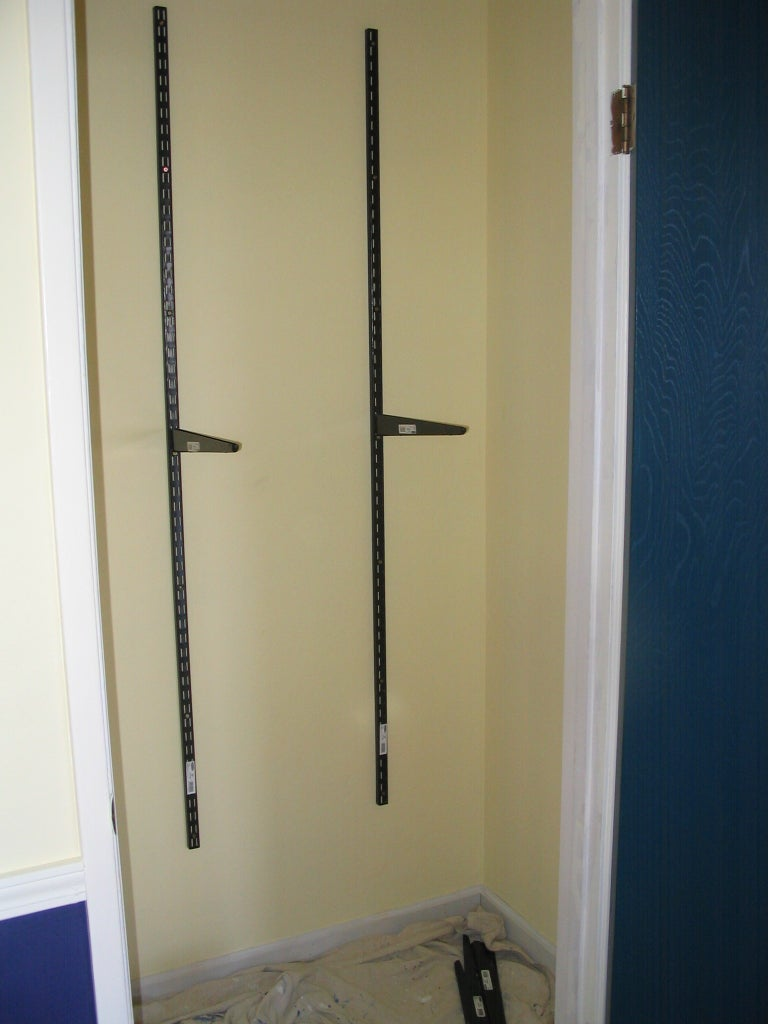 Paint and Shelf Brackets