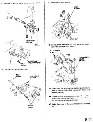 Replacing the Engine Mounts on My Honda Civic 1999. : 6 Steps -  Instructables | 99 Honda Civic Engine Diagram |  | Instructables