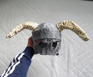 How to Make a Skyrim (Dawnguard) Iron Helmet