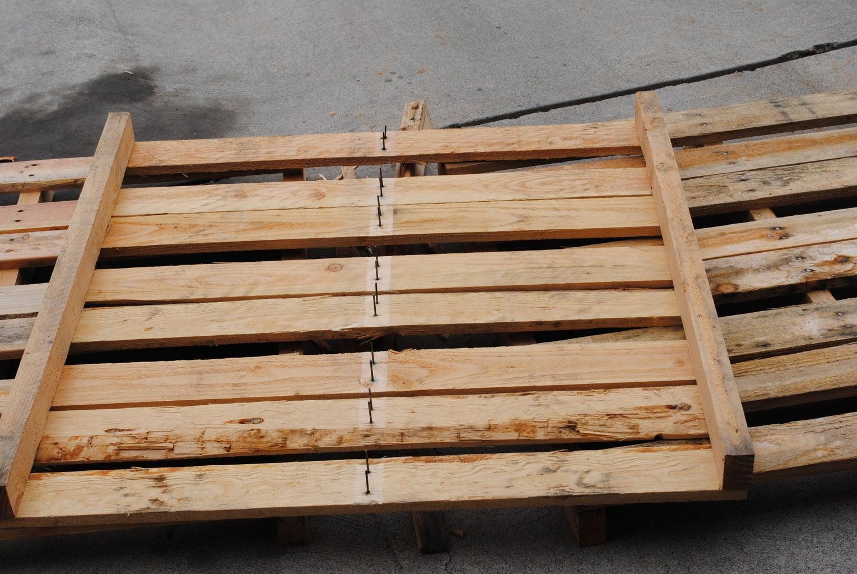 Preparing the Lumber