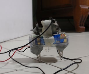 Vibrobot With Legs