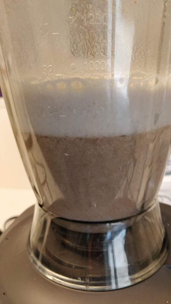 Mill or Blend the Grains