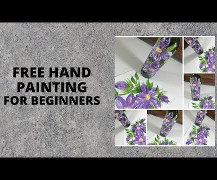 FREE HAND PAINTING FOR BEGINNERS