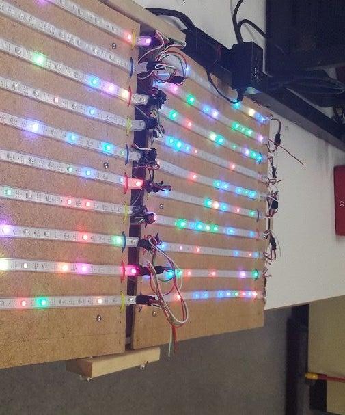 Foldable LED Display