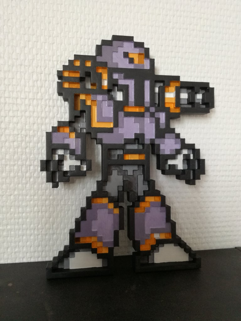 UniPix : How to Generate 3D Models From Your Favorite Pixel Arts!