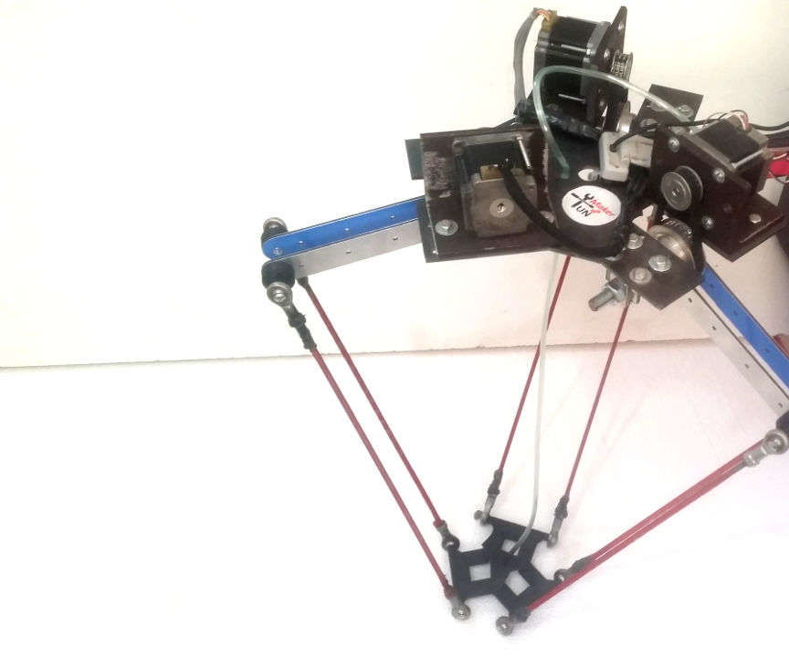 Delta Robot With a Custom GUI and Image Processing