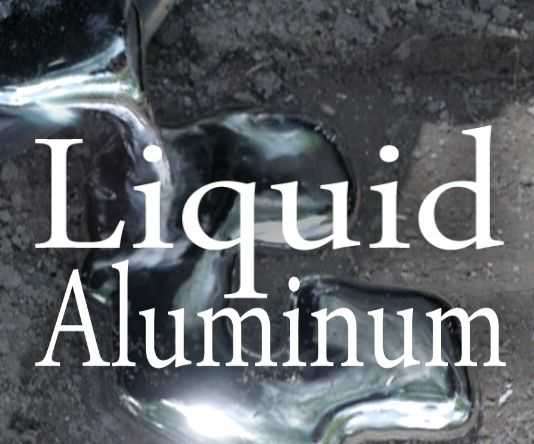 Melt Aluminum With A Hole In The Ground