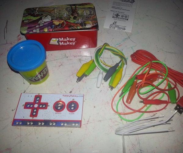 MakeyMakey+PlayDoh+Pac-Man=ENDLESS FUN MakerBar Hackerspace