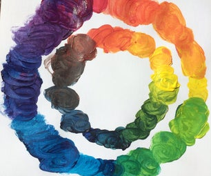 How to Mix Colors Like a Color Printer