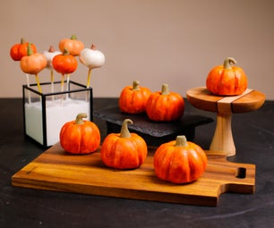 "No Waste ""REAL"" Pumpkin Cake & Cake Pop"