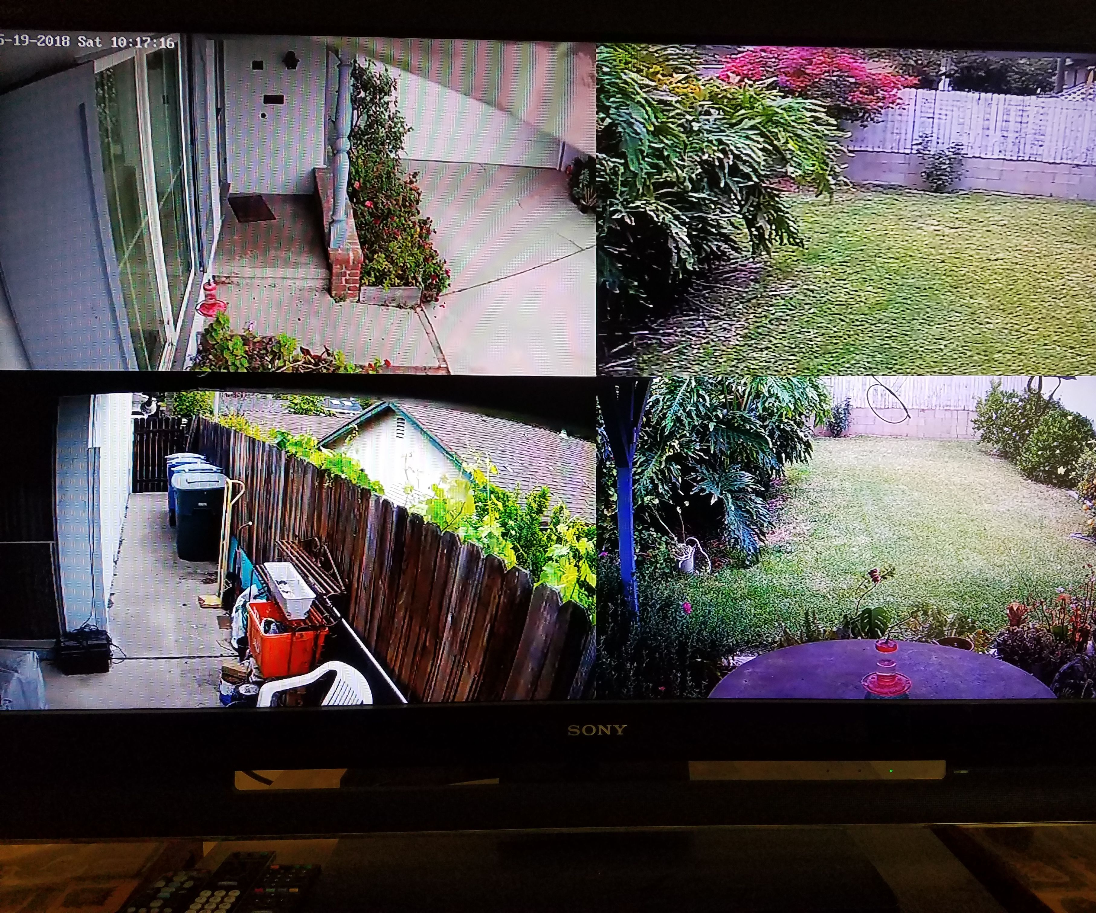 Who's at the Door, an Alexa Actuated Camera System