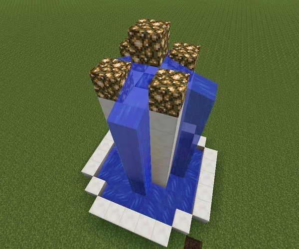 Minecraft Fancy Fountain