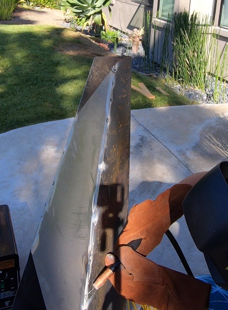 Field Measure, Cut, and Weld Top of Chiminea
