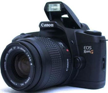 How to Insert Film in a Canon EOS Rebel G Camera