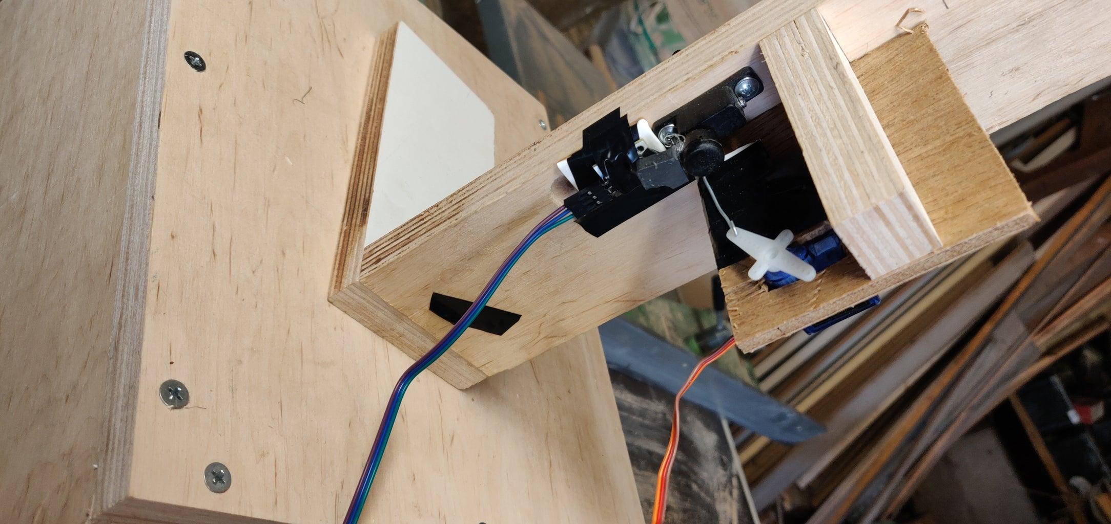 Casing + Component: the Lock + Magnet Sensors