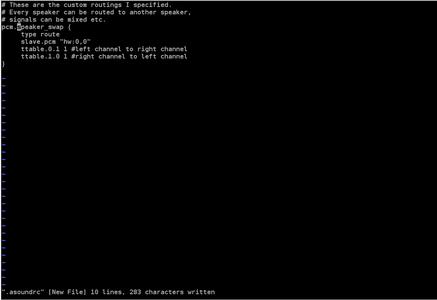 "Use an ALSA Plugin Called ""route"" to Create an ALSA Virtual Device"