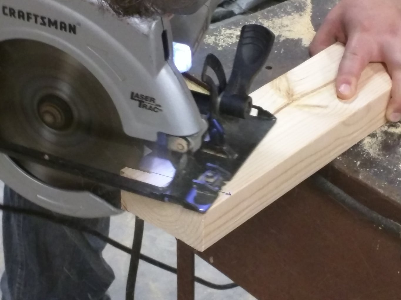 Measure and Cut Vertical Back Support Boards.
