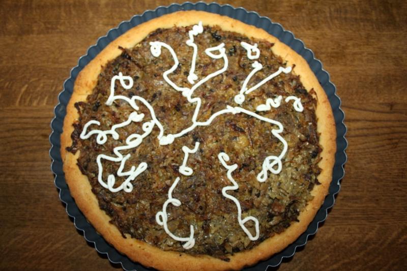 Savoy Cabbage Pie