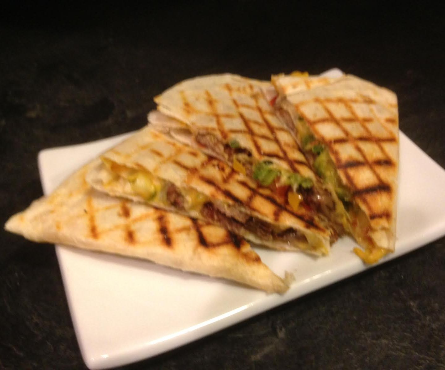 Quesadillas!  An easy way to make them at home.