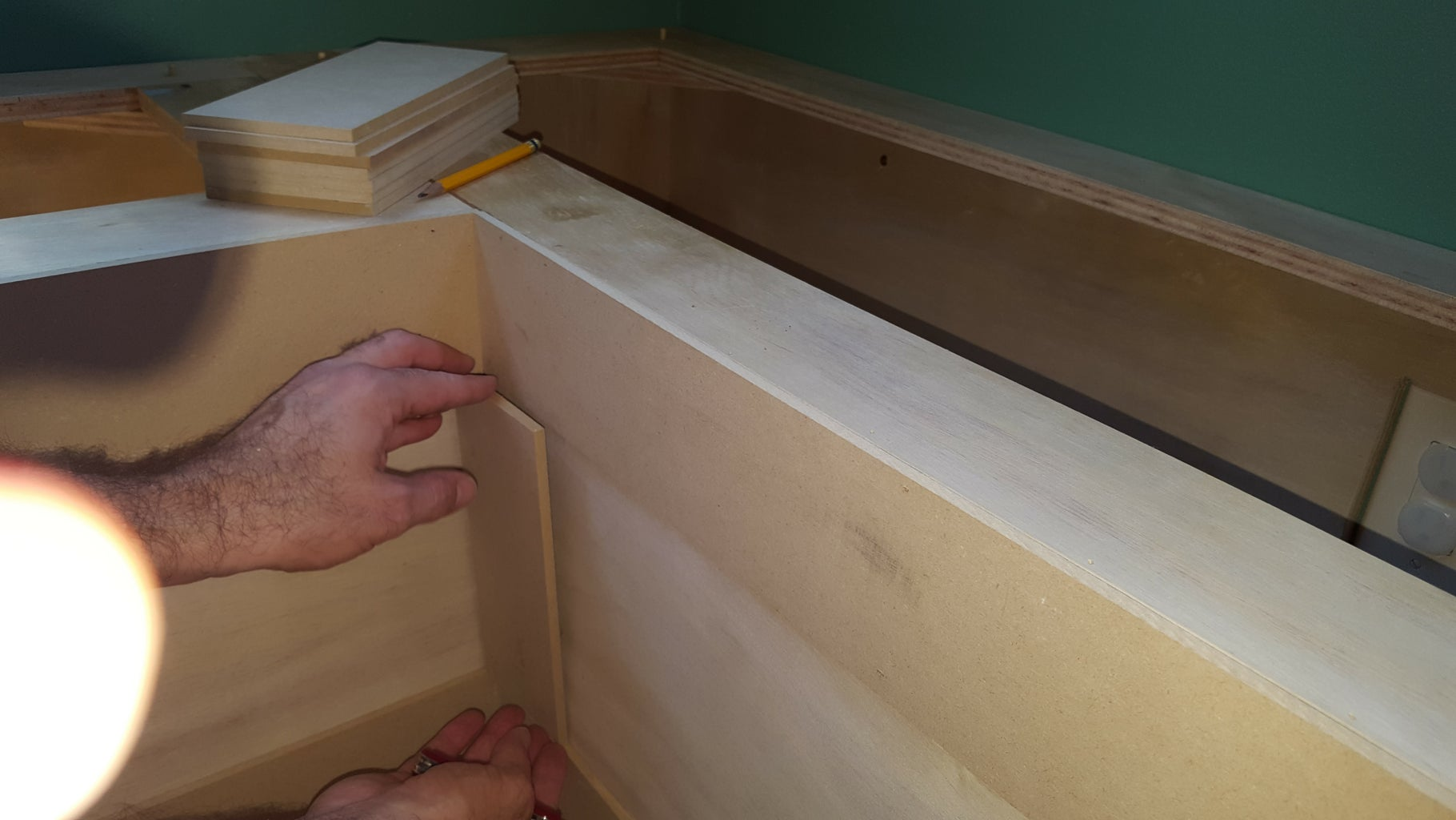 Install the Bench and Trim