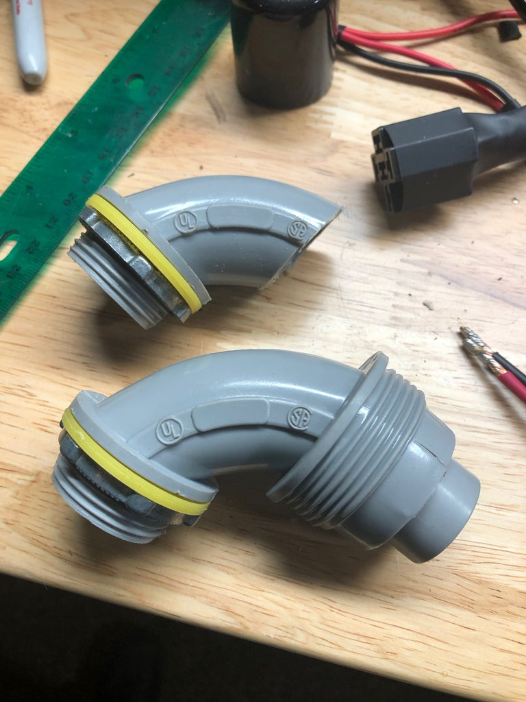 Attach Wire Entry and Exhaust