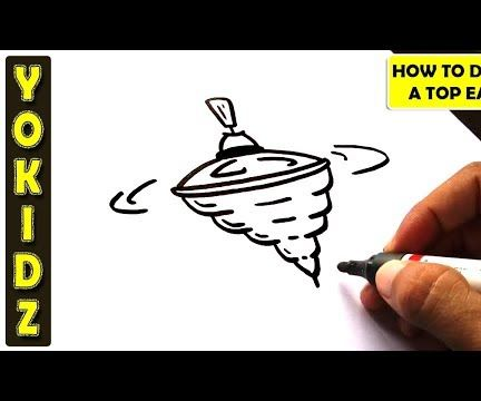 HOW TO DRAW a TOP