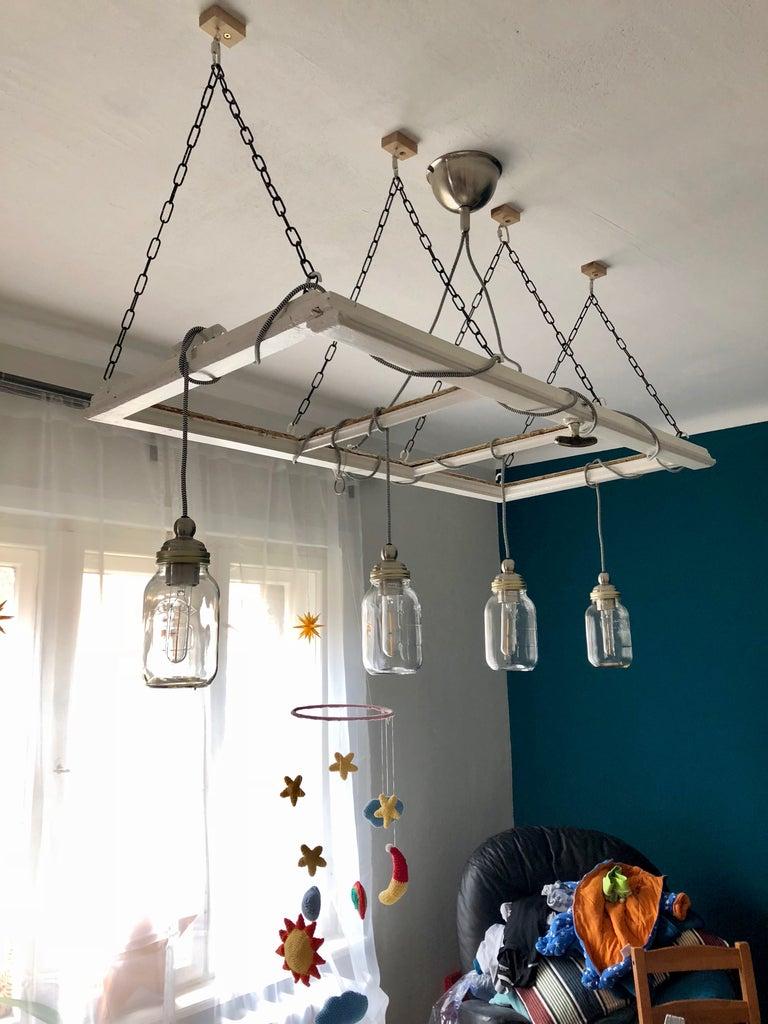 Adding the Mason Jars and Bulbs - Done