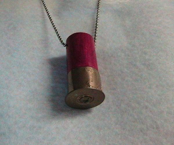 Shotgun Shell Necklace: a Non-explosive Foray Into Radical Chic