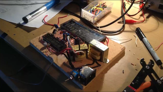 Adding the Power Supply and Electronics