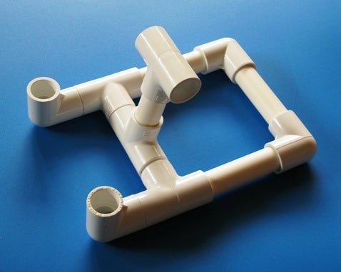 IPad Stand From Pipe Fittings