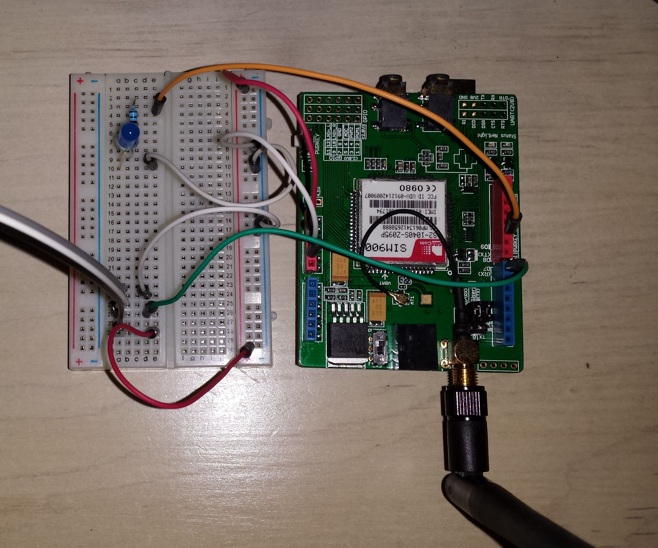 Arduino Motion Detector + Make it Wireless + Call Phone when Motion Detected