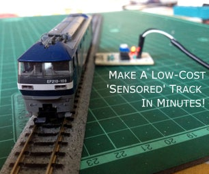 Make a Low Cost Sensored Track in Minutes!