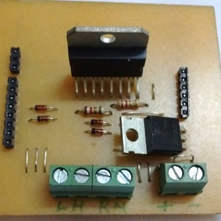 DIY Arduino Motor Shield (L298N 2x4A)