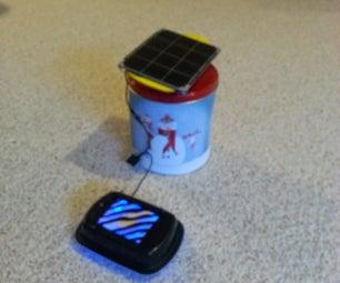 Portable Solar Powered Air Filter