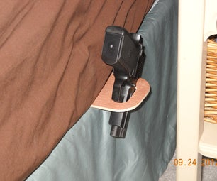 Cheap and Easy Bed Holster