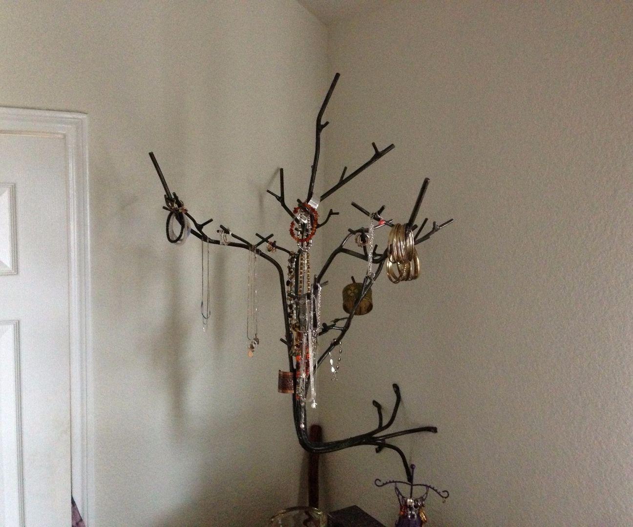 Steel Rod/Wire Jewelry Tree