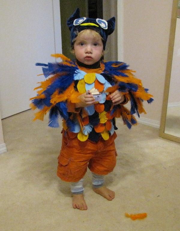 Easy & Adorable Owl Costume