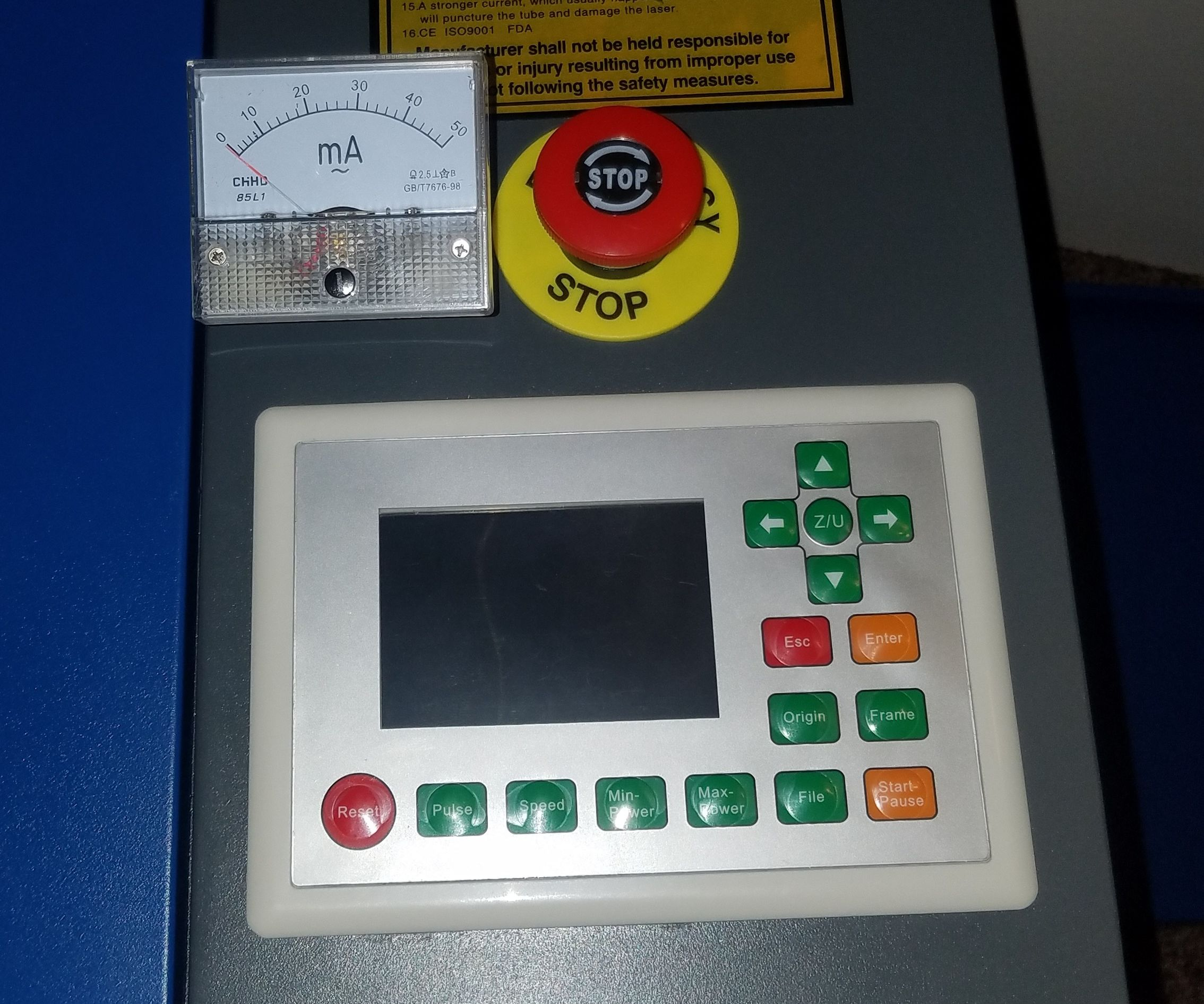 Adding a Analog Milliamp for Your Laser Cutter