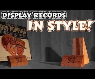 Vinyl Record Display Stand