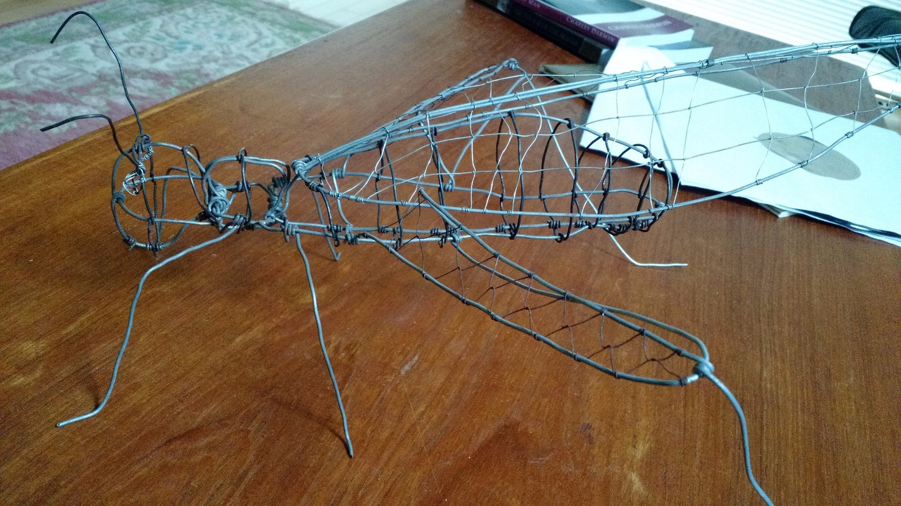 Build a Realistic Insect From Wire
