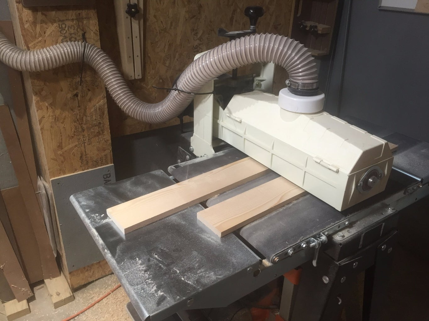 Milling the Parts