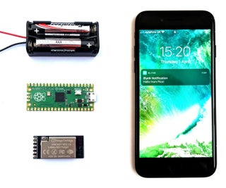 How to Connect RaspberryPi Pico to WiFi & Send Phone Alerts