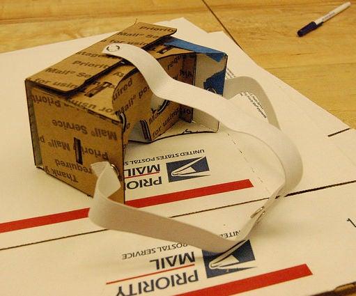 Google Cardboard Snap Headstrap