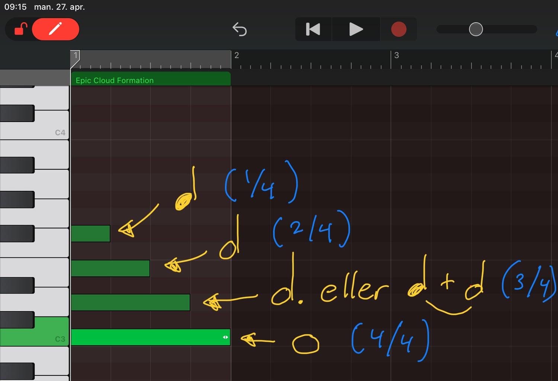4. Musikkteori - Notelengde
