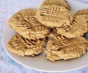 3 Ingredient Flour-less PB Cookies