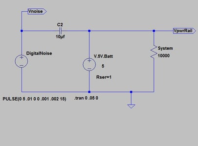 One Application of Capacitors - Filter Noise