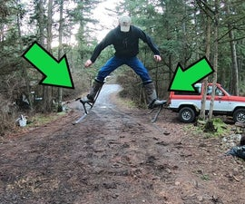 How to Build Real Fully-Functional Jump Stilts From Scratch!