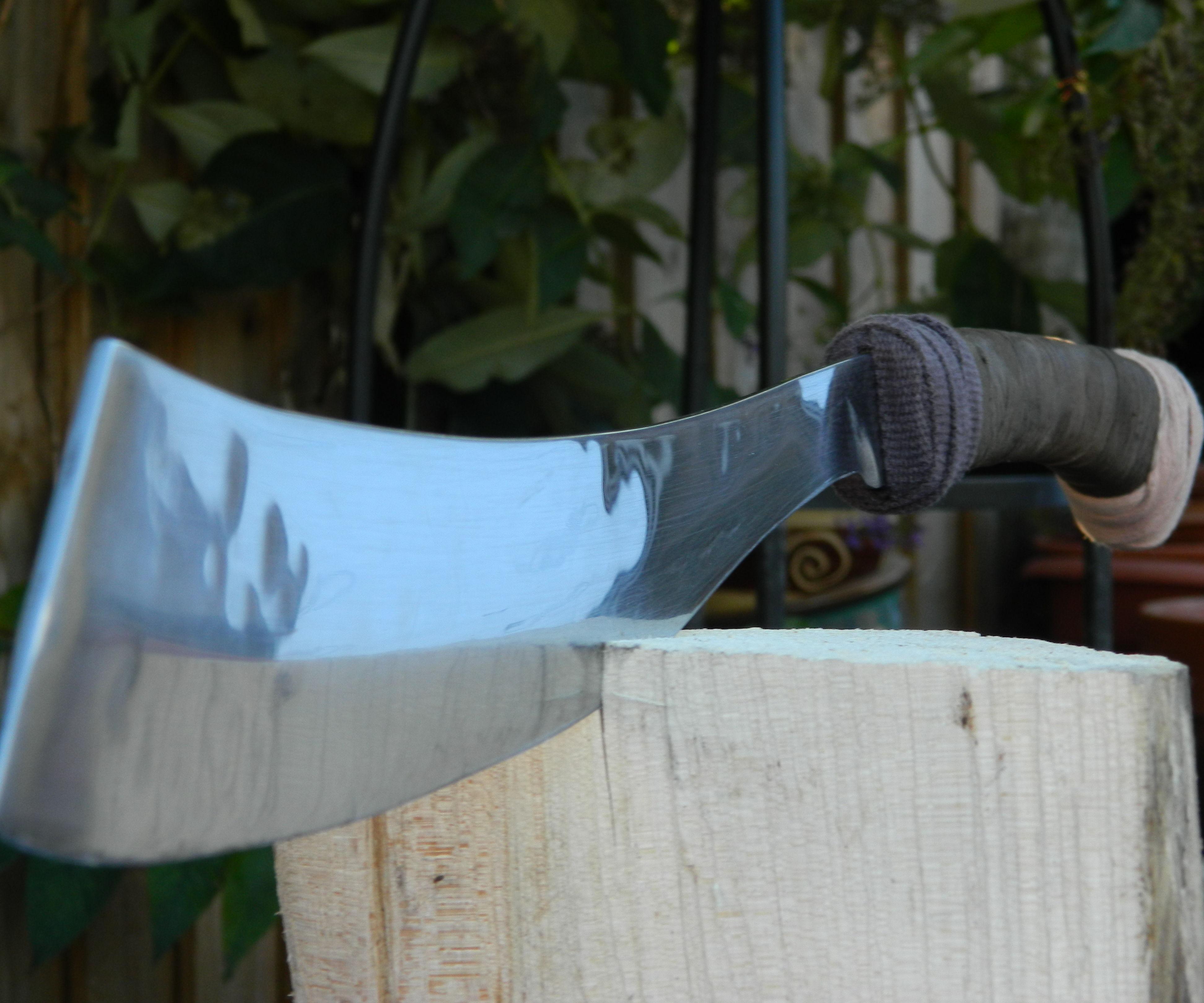 Decorative Sword/Machete for the Novice Metalworker