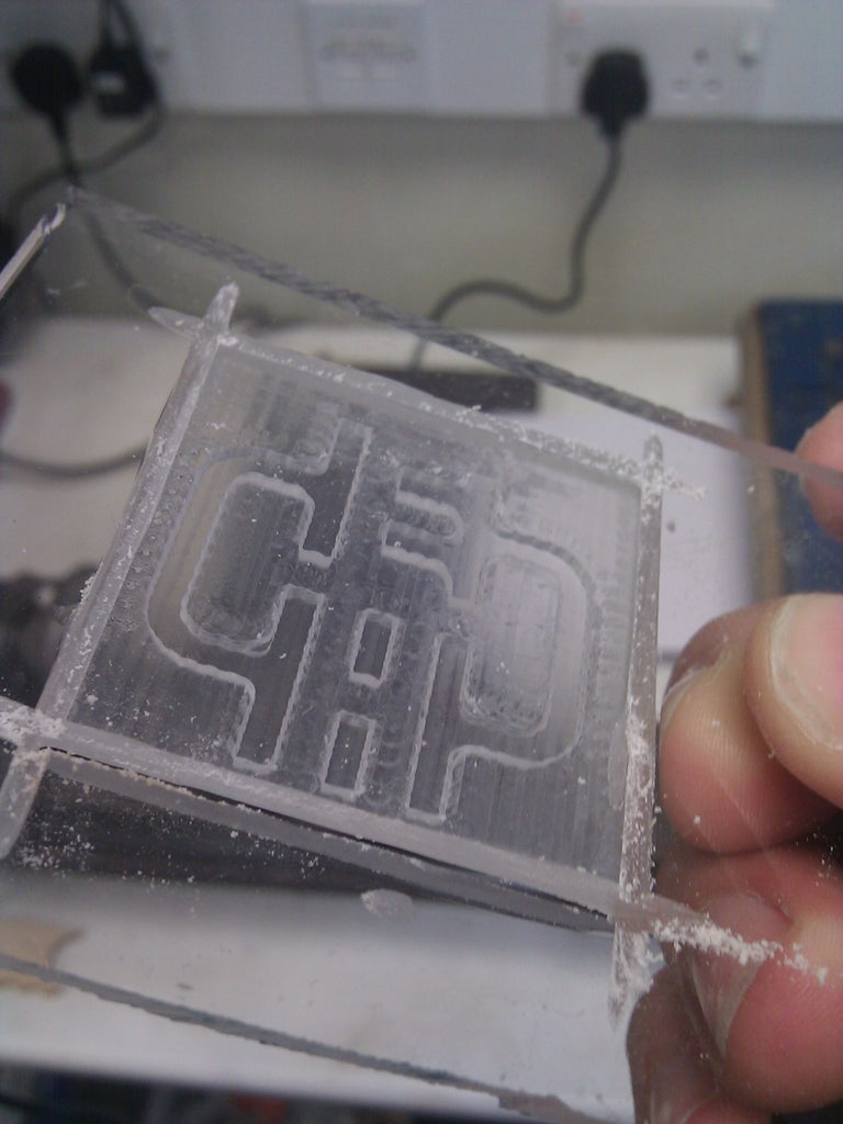 Finish the Die for Embossing
