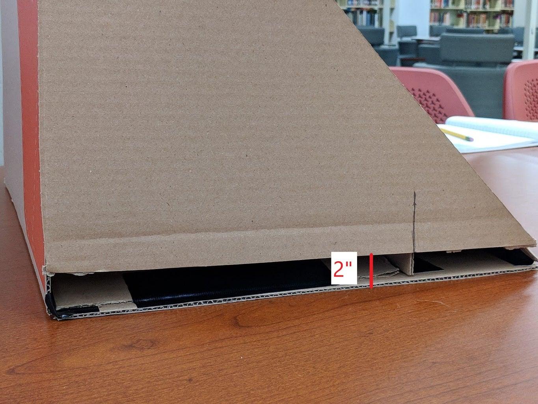 Mark the Side Wall Cutout Edge